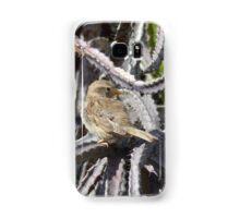 Bird perched on a cactus Samsung Galaxy Case/Skin