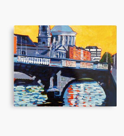 Mellows Bridge, Dublin Metal Print