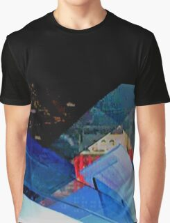 New York City Abstract Graphic T-Shirt
