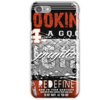boxing iPhone Case/Skin