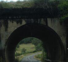Quaint tunnel  Sticker