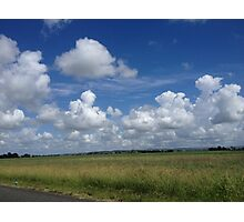 Peaceful rural scene Photographic Print