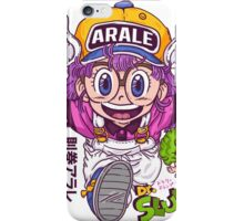 Arale - dr slump  iPhone Case/Skin
