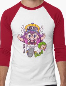 Arale - dr slump  Men's Baseball ¾ T-Shirt