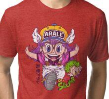 Arale - dr slump  Tri-blend T-Shirt
