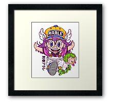 Arale - dr slump  Framed Print