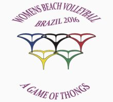 Brazil 2016 Beach Volleyball   Mk1 by Radwulf