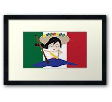 Adelita. Framed Print