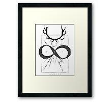 INFINITE - REALITY Framed Print