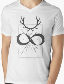 INFINITE - REALITY Mens V-Neck T-Shirt