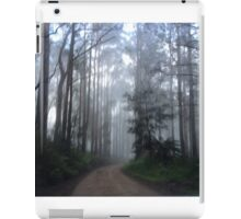 Misty forest iPad Case/Skin