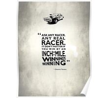 Ask Any Racer Poster