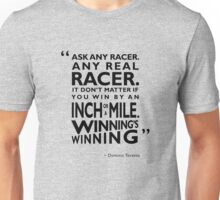 Ask Any Racer Unisex T-Shirt