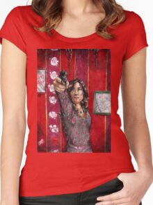 Hannibal - Red blood, red bloom Women's Fitted Scoop T-Shirt