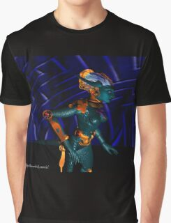 NEMES / HYPER ANDROID FROM HYPERION WORLD Sci-Fi Movie Graphic T-Shirt