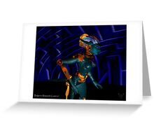 NEMES / HYPER ANDROID FROM HYPERION WORLD Sci-Fi Movie Greeting Card