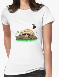 I Love my Tortoise cute cartoon Womens Fitted T-Shirt