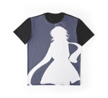 Nagisa Winter Coat White - Clannad Graphic T-Shirt