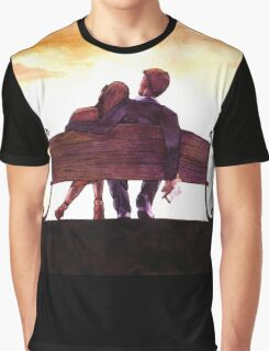 Sunset love Graphic T-Shirt