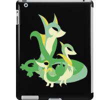 Snivy evolution iPad Case/Skin