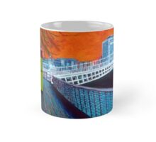 Boardwalk, Hapenny Bridge, Orange - Dublin Mug
