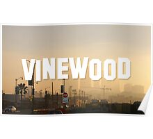 Vinewood Sign - GTA V Poster