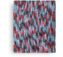 Yarn Bomb Canvas Print