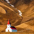 Church at Vik by Caleb Ward