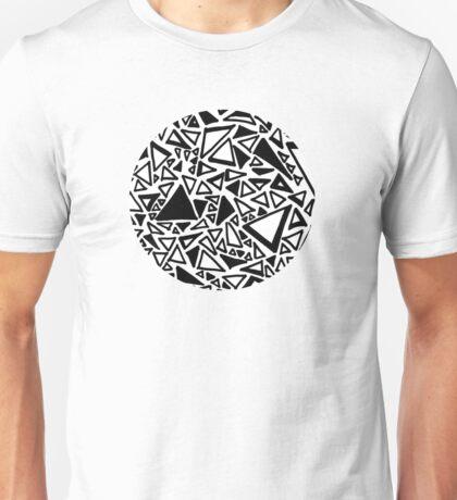 Dark Triangle Doodle Unisex T-Shirt