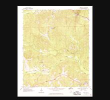 USGS TOPO Map Alabama AL White Oak 305385 1968 24000 Unisex T-Shirt