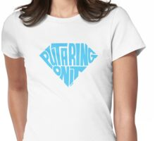 Put A Ring On It (Blue) Womens Fitted T-Shirt