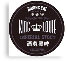 Boxing Cat Brewery King Louie Imperial Stout Chinese Beer Canvas Print