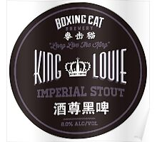Boxing Cat Brewery King Louie Imperial Stout Chinese Beer Poster