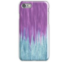 Aqua Sparkle Berry Abstract iPhone Case/Skin