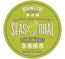 Boxing Cat Brewery Seasonal Selection Chinese Beer Photographic Print