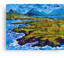 View from Clogher Head Canvas Print