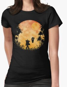 The return of Mr. Bandicoot Womens Fitted T-Shirt