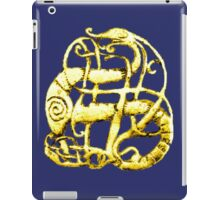 Viking dragon - Scandinavia, 11th century iPad Case/Skin