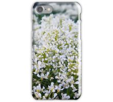 White meadow iPhone Case/Skin
