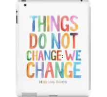 We Change iPad Case/Skin