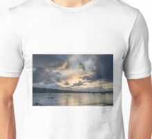 Evening Sky over Windermere Unisex T-Shirt
