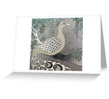 A Majestic Bird Greeting Card