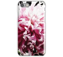 Pink Dancing Dahlia iPhone Case/Skin