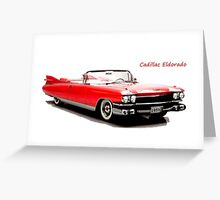 Cadillac Eldorado Greeting Card
