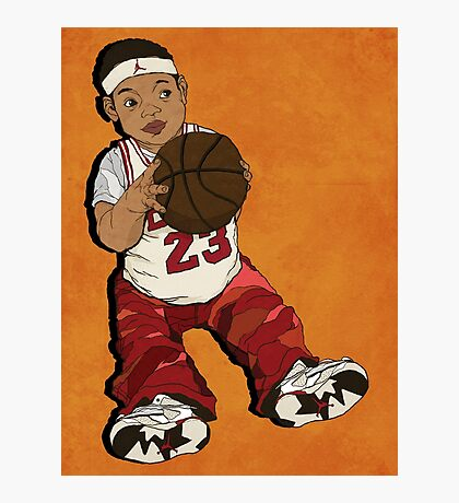 basketball boy Photographic Print