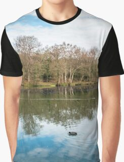 Cannop Ponds Forest of Dean Graphic T-Shirt