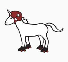 Roller Derby Unicorn Baby Tee