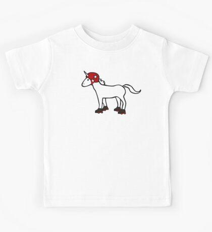 Roller Derby Unicorn Kids Tee