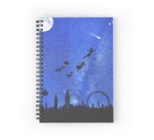 Welcome to Neverland- version 1 Spiral Notebook