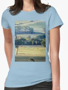 Autumn view Womens Fitted T-Shirt